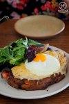 Sydney Food Blog Review of Le Grande Bouffe, Rozelle: Croque Madam, $17