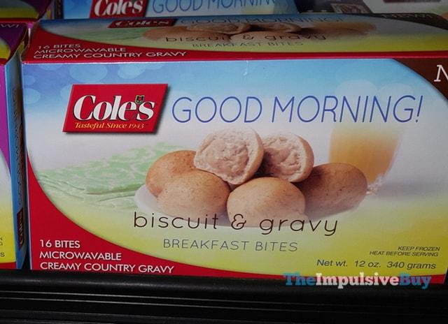 Cole's Good Morning! Biscuit & Gravy Breakfast Bites
