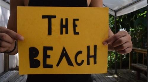 beach drama therapy skit at drug rehab