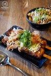 Okonomi stick (Musashi), $5.90. Manpuku, Chatswood: Sydney Food Blog Review