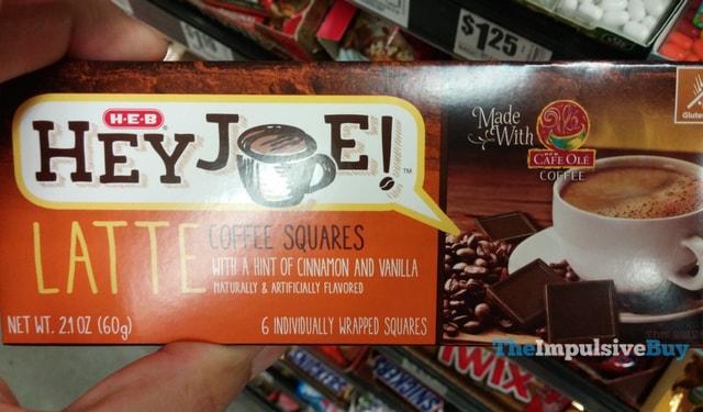H-E-B Hey Joe! Latte Coffee Squares