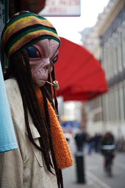 Girl Style Wallpaper Alien Smoking Pot Flickr Photo Sharing