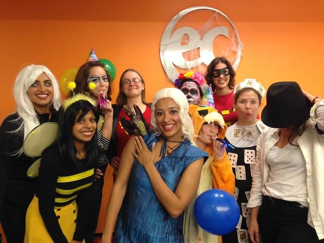 Get a CELTA _ Halloween at EC