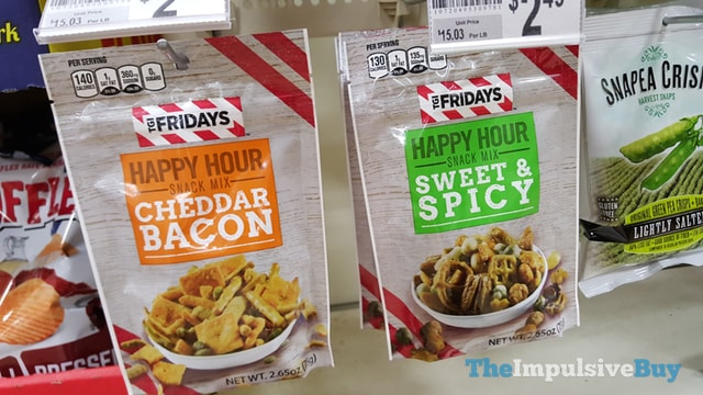 TGI Fridays Happy Hour Snack Mix (Cheddar Bacon and Sweet & Spicy)