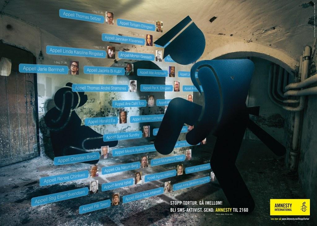 Amnesty International - Stop torture 2