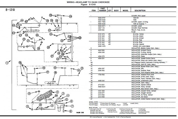 Jeep Fuse Box For Sale Wiring Diagram