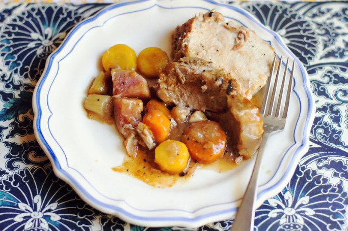 Sunday Dinner: Pork Pot Roast with Root Vegetables