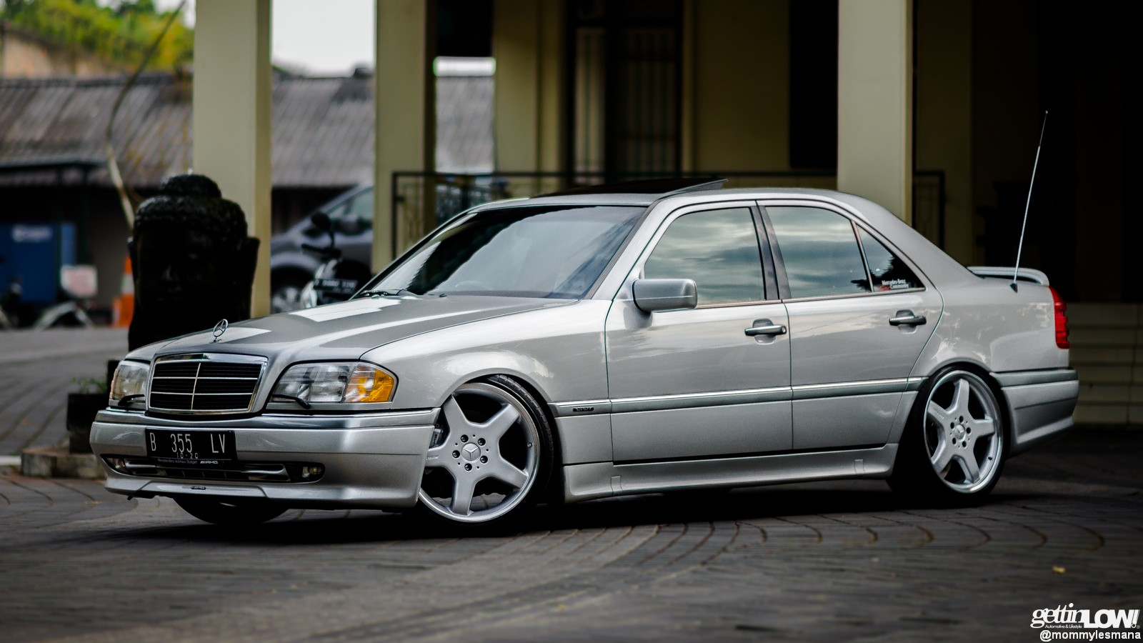 Wallpaper Mobil Sport Hd Gettinlow Trey Coesno 1995 Mercedes Benz W202 C200 Full Amg