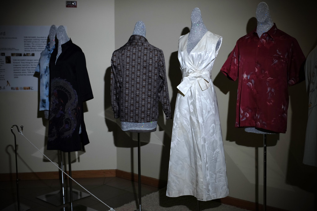 <p>Celebrating 50 Years of UHM Costume Collection: This exhibit features approximately one Qing dynasty dragon robe, Japanese Uchikake (70s'), and eight Hawaii wears along with 17 research posters and about 15 Asia dolls from the College of Tropical Agriculture & Human Resources' Historic Costume Collection, the largest Asian costume collection in an American university.</p>