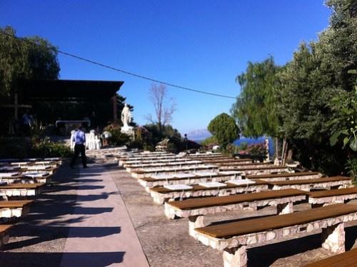 Scopello open air church