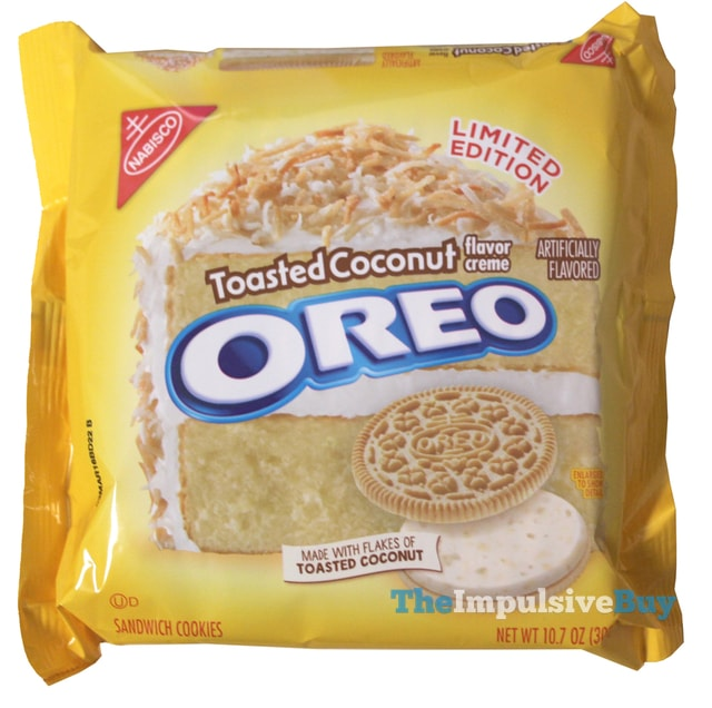 Nabisco Limited Edition Toasted Coconut Oreo Cookies