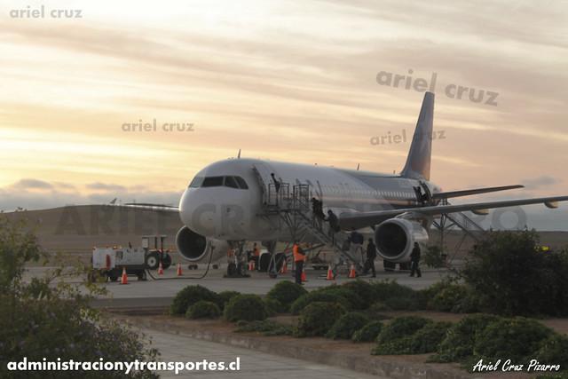 LAN Express - Copiapó / Desierto de Atacama - Airbus A320 CC-BAY
