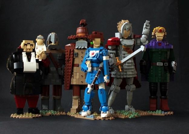 lego anime models the brothers brick lego blog