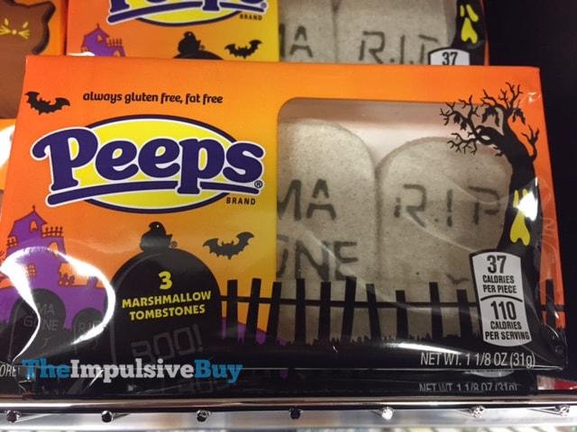 Peeps Marshmallow Tombstones