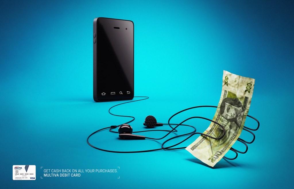 Banco Multiva Debit Card - Smartphone