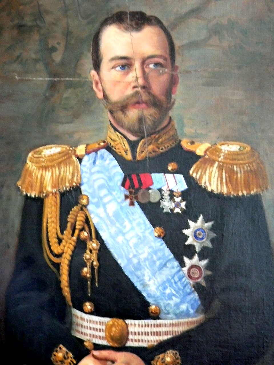Küchensofa Nicholas 2 Portrait Of Tsar Nicholas Ii That Once Hung In The ...