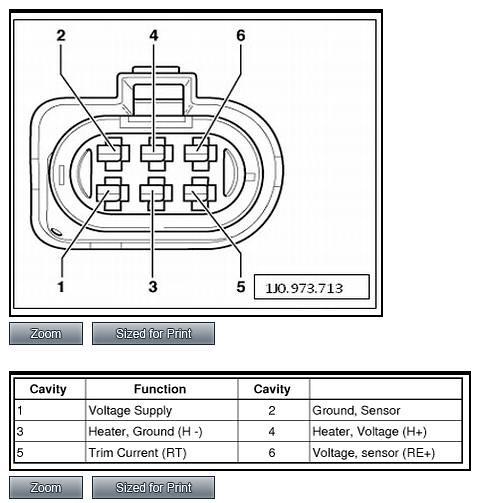 Audi O2 Sensor Wiring Wiring Diagram