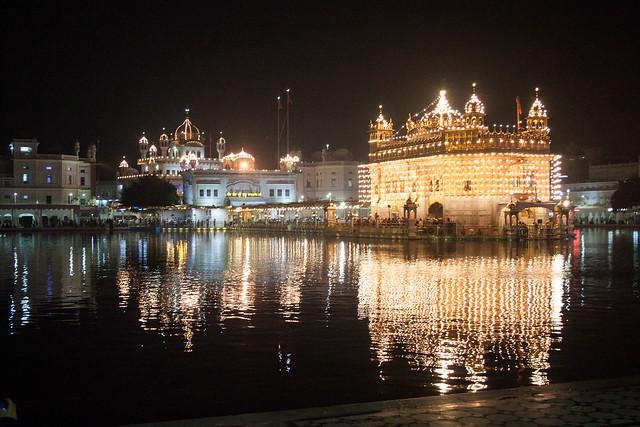 Der Tempel an Diwali