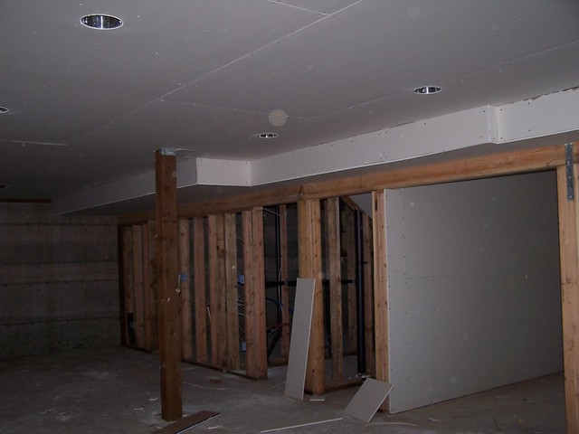 Basement Ceiling Drywall Hung Flickr Photo Sharing