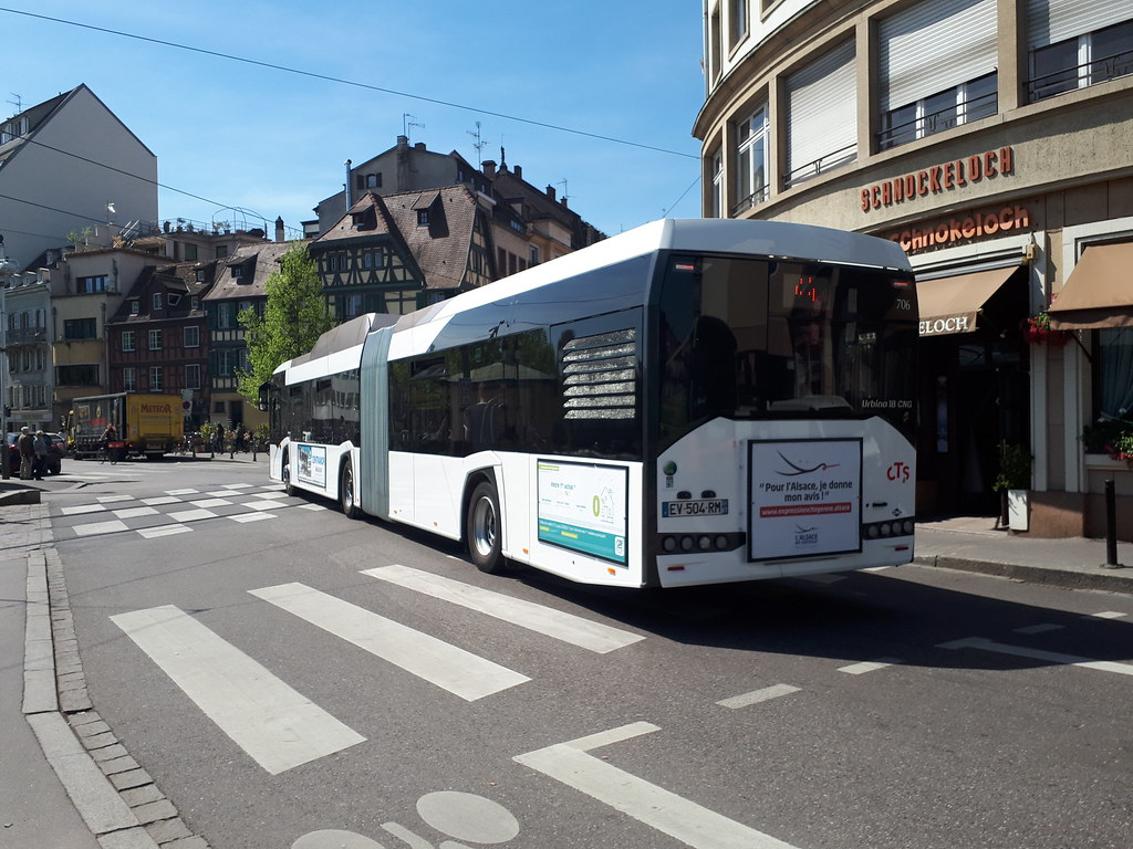 Agence Cts Strasbourg Solaris Urbino 18 Iv 4a Pont Kuss Cts Strasbourg Flickr