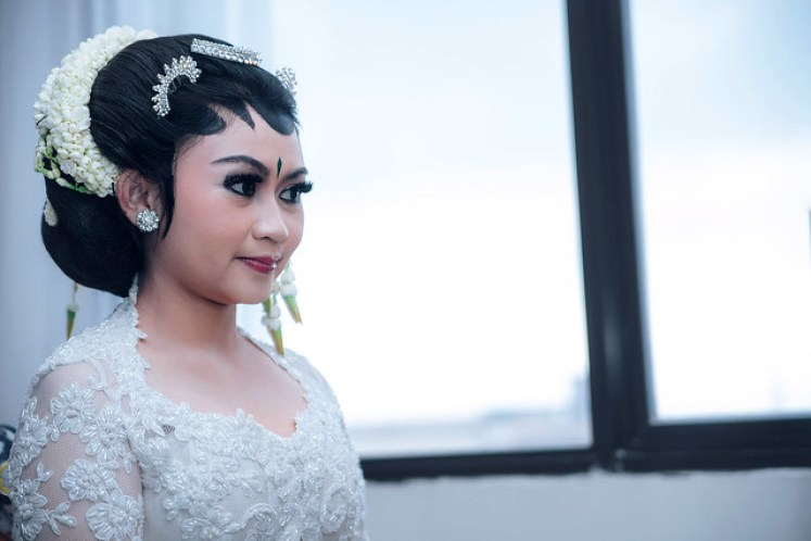 gofotovideo wedding at CIMB Niaga Bintaro akad nikah 014