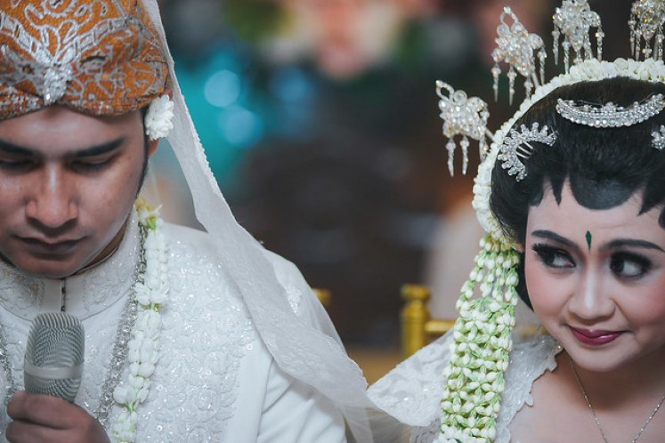 gofotovideo wedding at CIMB Niaga Bintaro akad nikah 031