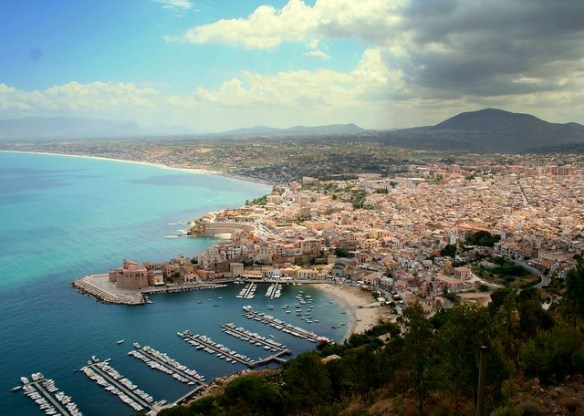 best Sicily beaches, Castellammare del Golfo