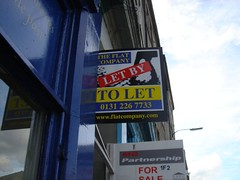 Helping my cousin look for a flat to let.