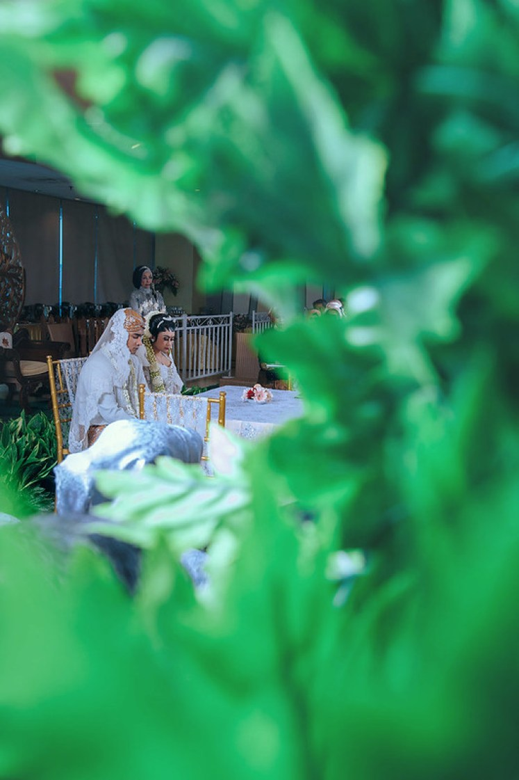 gofotovideo wedding at CIMB Niaga Bintaro akad nikah 004