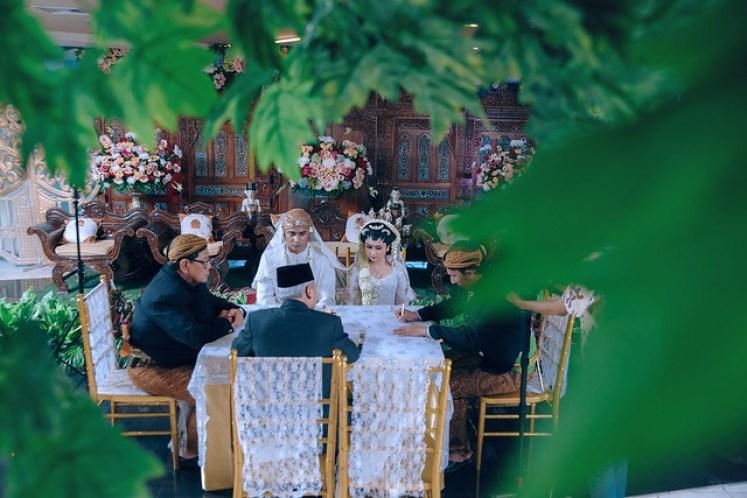 gofotovideo wedding at CIMB Niaga Bintaro akad nikah 003