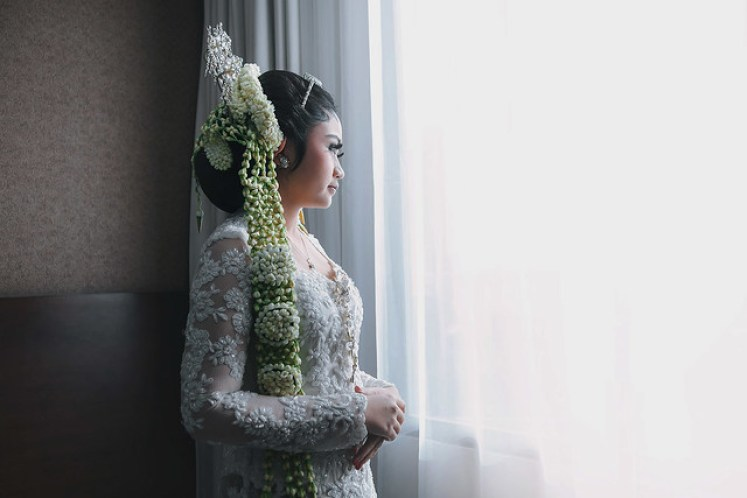 gofotovideo wedding at CIMB Niaga Bintaro akad nikah 013