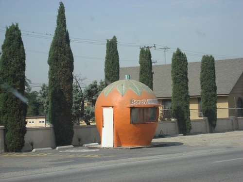 Last Remaining Route 66 Giant Orange Stand