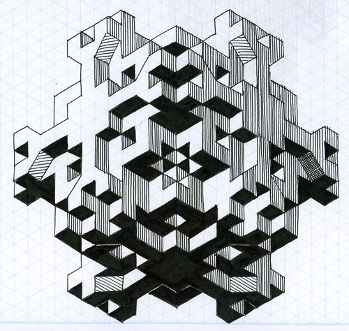 three letter word for art Fun with Isometric Graph Paper