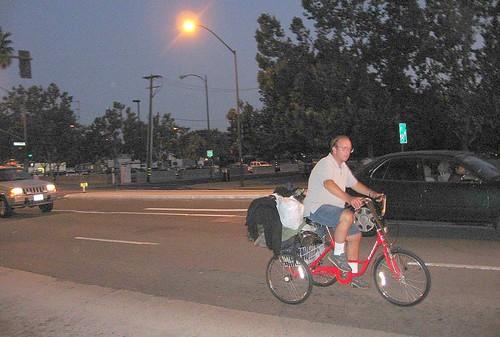 San Jose trike commuter