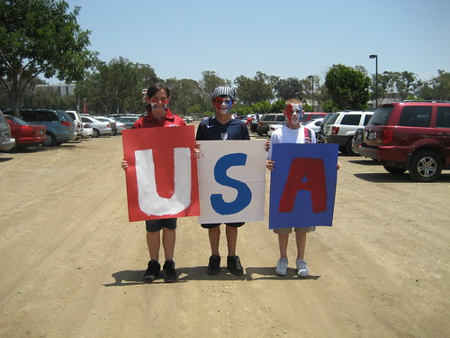 Red White and Blue - Home Depot Center - Carson, California