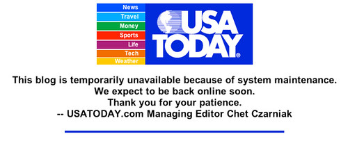 USA Today Down