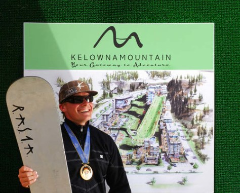 Ross Rebagliati Named New Snowboard and Ski Director for Kelowna Mountain
