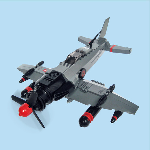LEGO sky-fi zero fighter