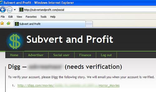 Subvert and Profit