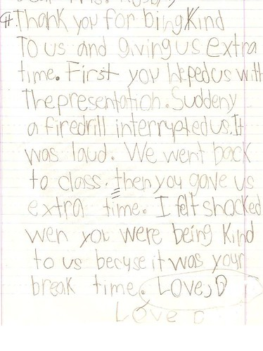 Friendly Thank You Letter \u2013 Using Thinking Maps Teaching in the