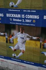 David Beckham, Vancouver Whitecaps