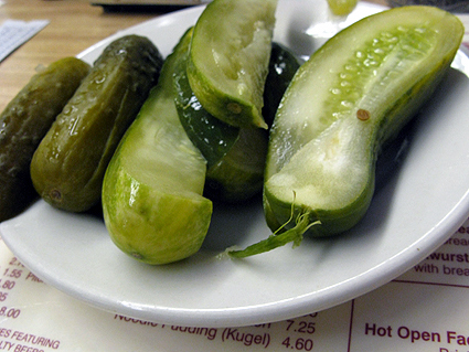 Half-Sour Pickels