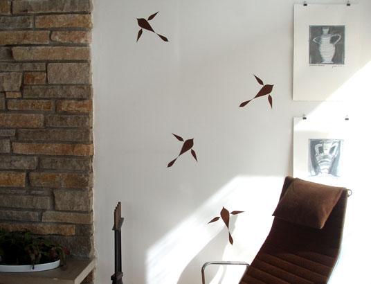 Beearo: Wood Wall Decals