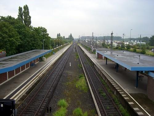 Bahngleistristesse