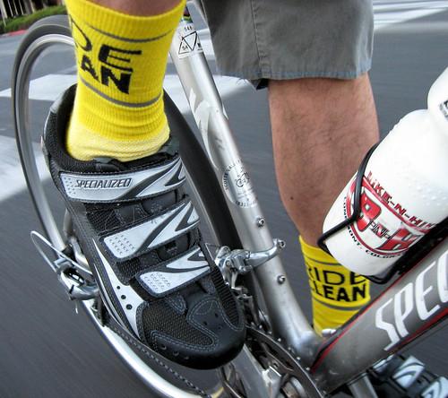 Socks du jour: Ride Clean