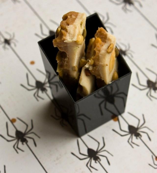 Pumpkin Spice Pepita Toffee