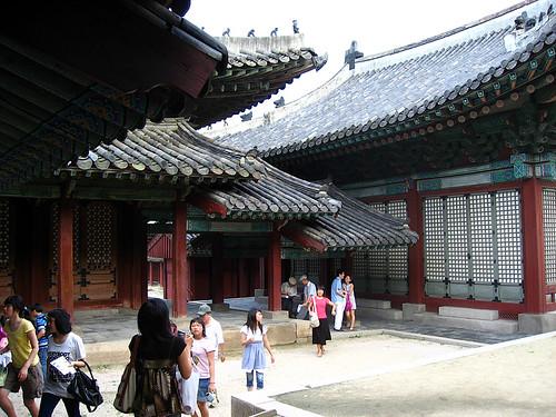 Rear, Myeongjeongjeon Hall