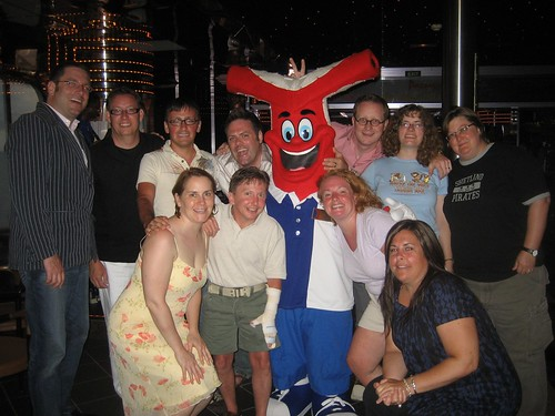 The Gang, with Fascination Mascot
