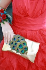 Gold Peacock Clutch!