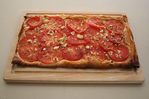 phyllo dough tart